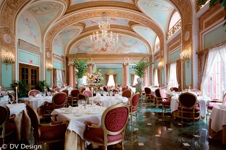 Dining Room at The French Room, Dallas, TX