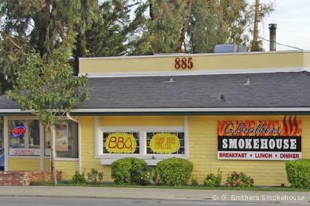Dining Room at G. Brothers Smokehouse, San Luis Obispo, CA