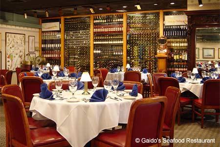 Dining Room at Gaido