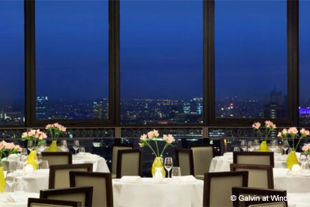 Celebrate Valentine's Day in London at Galvin at Windows