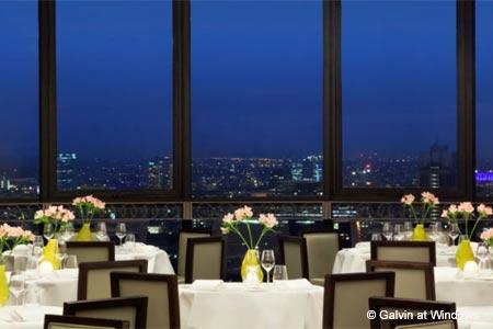 Dining Room at Galvin at Windows, London,