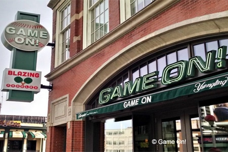 Celebrate Father's Day with a meal at Game On! in Boston