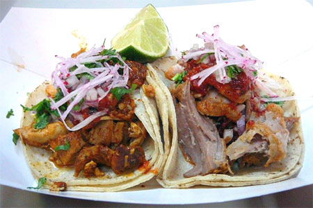 Garaje's tacos use organic corn tortillas and come with a range of flavorful meats, fish and seafood