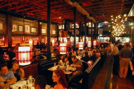 Dining Room at Gaslamp Strip Club, San Diego, CA