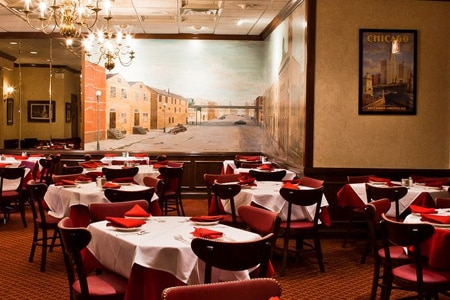 Gene and Georgetti, one of Gayot's Top 10 Classic restaurants in Chicago