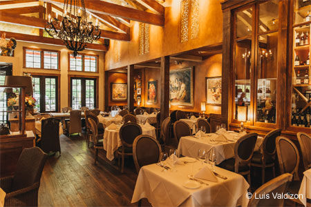 Dining Room at Giardino, Vancouver, BC