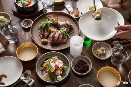 Dining Room at Girin, Seattle, WA
