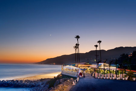The view from Gladstone's, one of GAYOT's Top 10 Beachside Restaurants in Los Angeles