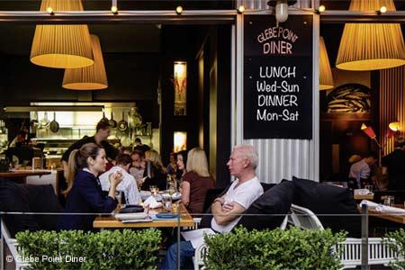 Glebe Point Diner, Sydney, australia