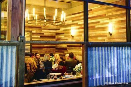 Dining Room at Glen Ellen Star, Glen Ellen, CA