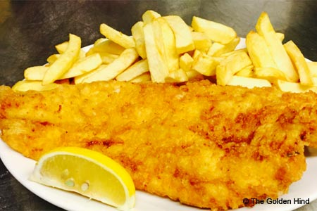 The Golden Hind serves some of the best fish and chips in London