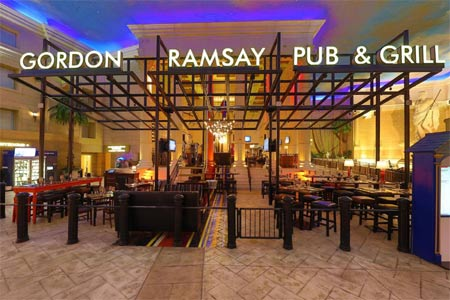 Gordon Ramsay Pub & Grill serves up British fare in Caesars Atlantic City Hotel & Casino