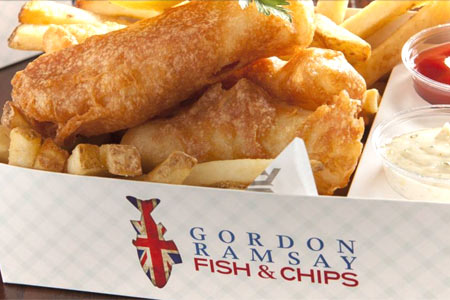 Gordon Ramsay Fish & Chips, Las Vegas, NV