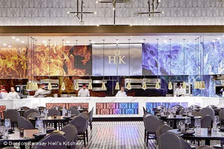 Gordon Ramsay Hell's Kitchen, Las Vegas, NV