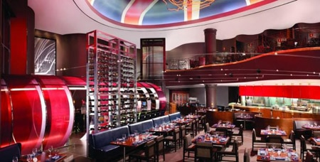 Dining Room at Gordon Ramsay Steak, Las Vegas, NV