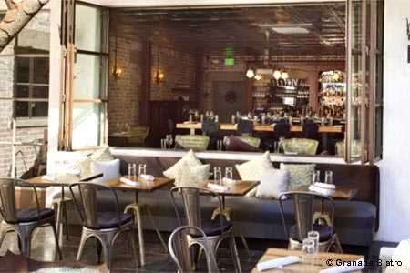 Farm-to-table cuisine in an industrial chic bistro with a circa 1920s ambience.