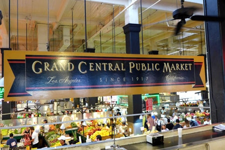 Grand Central Market, Los Angeles, CA
