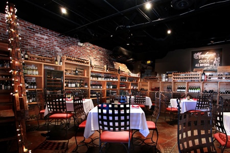 Dining Room at Grape Vine Café, Wine Bar & Cellar, Las Vegas, NV