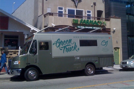 Green Truck, Los Angeles, CA