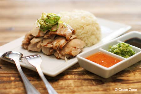 Green Zone serves organic Asian cuisine in Temple City
