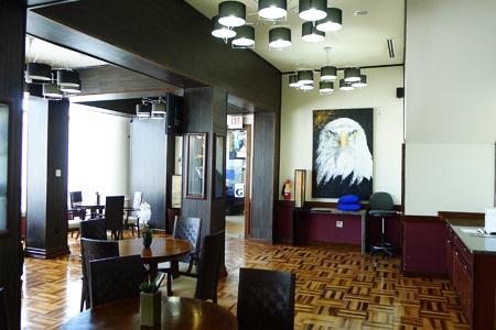 Graycliff Airport Lounge, Nassau, bahamas
