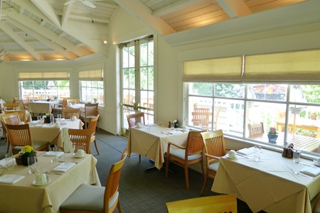 Dining Room at The Grill at Meadowood, St. Helena, CA