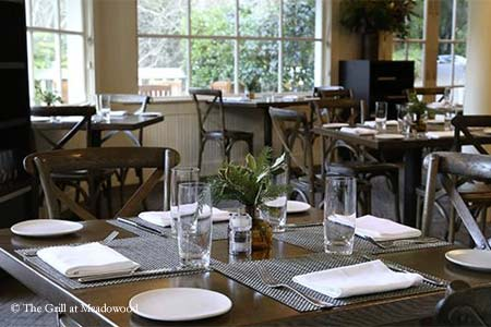 THIS RESTAURANT IS TEMPORARILY CLOSED The Grill at Meadowood, St. Helena, CA