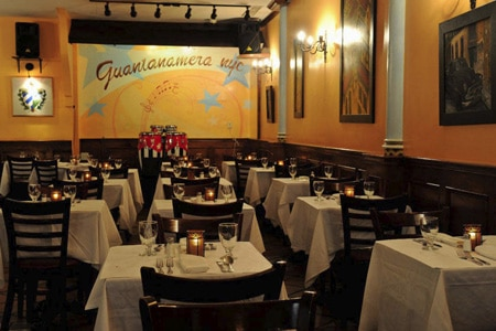 Dining room at Guantanamera, New York, NY