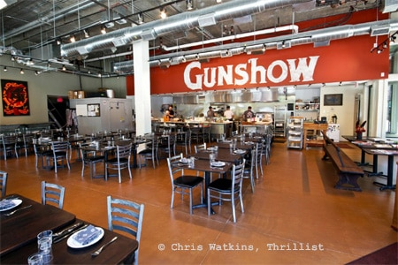 Dining Room at Gunshow, Atlanta, GA
