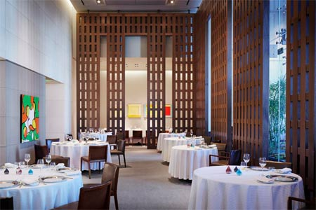 Dining Room at Restaurant Guy Savoy, Las Vegas, NV