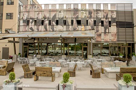 Hagemeister Park, one of GAYOT's Best Outdoor Dining Restaurants in Green Bay