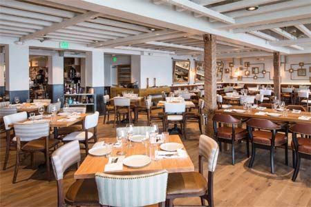 Dining Room at The Hake Kitchen & Bar, La Jolla, CA