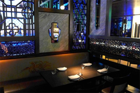 Dining Room at Hakkasan, Beverly Hills, CA
