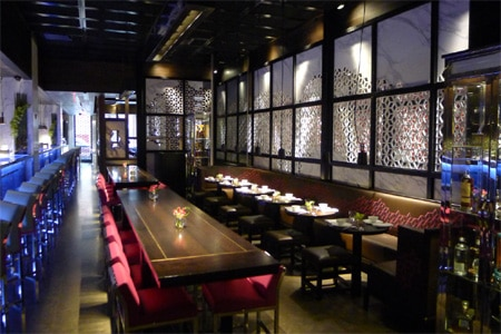 Enjoy some of the best Chinese food in NYC at Hakkasan restaurant