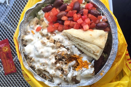 The Halal Guys, Los Angeles, CA