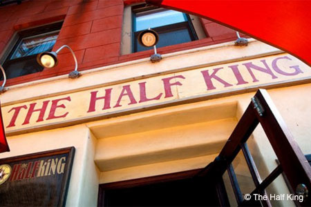 Dining Room at The Half King, New York, NY