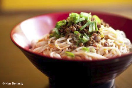 Noodles from Han Dynasty, one of GAYOT's Best Chinese Restaurants in New York