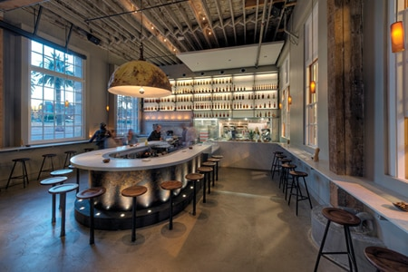 Dining room at Hard Water, San Francisco, CA