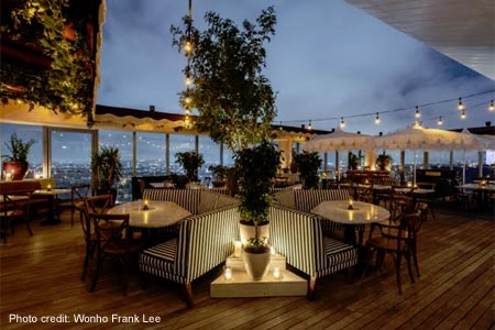 Harriet's Rooftop, West Hollywood, CA