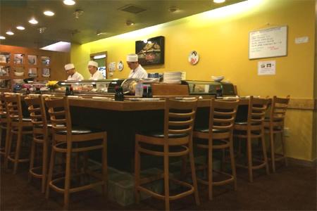 Dining room at Haru Ichiban, Duluth, GA