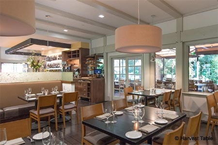 Dining Room at Harvest Table, St. Helena, CA