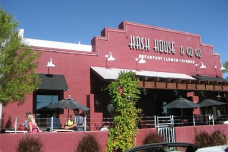Enjoy a meal with the family at Hash House A Go Go, one of GAYOT's Best Kid-Friendly Restaurants in Las Vegas (Off the Strip)
