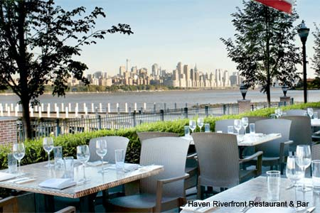 Dining Room at Haven Riverfront Restaurant & Bar, Edgewater, NJ