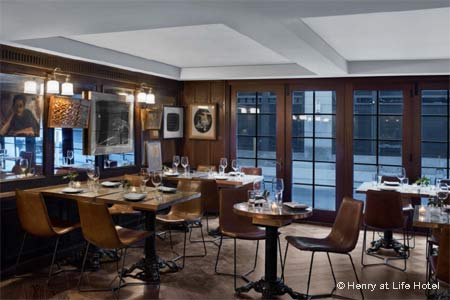 Henry at Life Hotel has opened in NYC