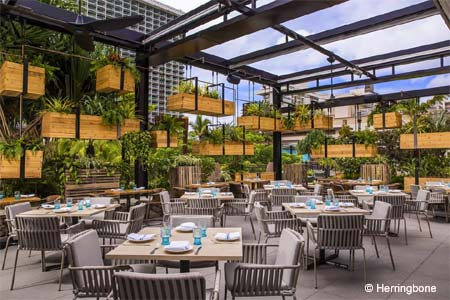 Herringbone has opened in Waikiki at the International Market Place