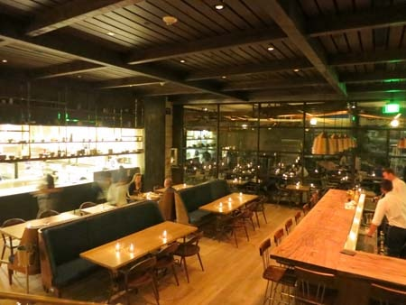 Dining Room at Hinoki & the Bird, Los Angeles, CA