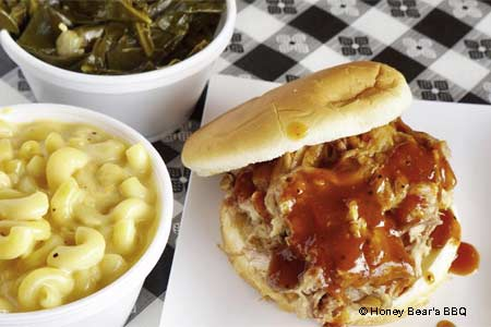 Honey Bear's Barbecue is one of GAYOT's Best Kid-Friendly Restaurants in Phoenix & Scottsdale