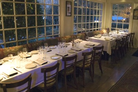 Dining room at Horseradish Grill, Atlanta, GA