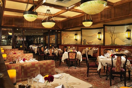 Dining Room at House of Prime Rib, San Francisco, CA