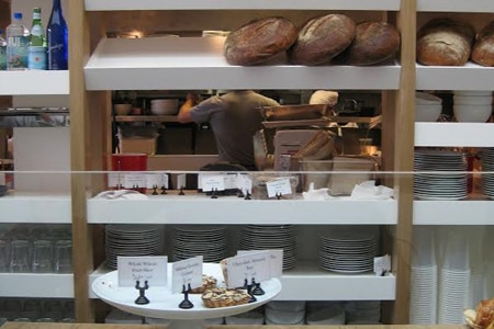 Huckleberry Cafe & Bakery features handcrafted breads and pastries